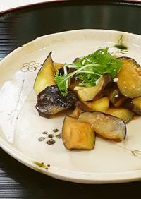 【野菜ソムリエ】京山科なすの白みそ炒め