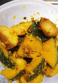 坊っちゃんカボチャとジャガイモの煮物