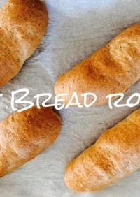 HBで作るダイエットロールパン