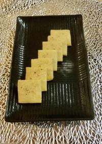 パルメザンチーズと黒胡椒のクッキー