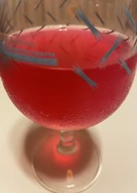 赤紫蘇ミントシロップ