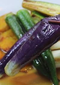 【記録用】野菜の煮びたし
