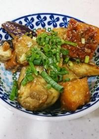 フライパンで簡単☆ナスと厚揚げの中華炒め
