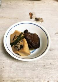 キノコと高野豆腐の海鮮詰め煮