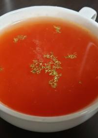 余ったトマト缶で作る超簡単トマトスープ