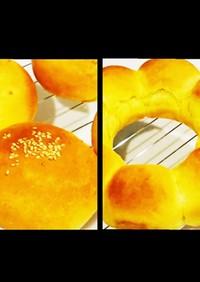 【HBで生地】野菜パウダーを使ったパン