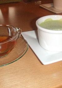 絶品濃厚★抹茶ババロア