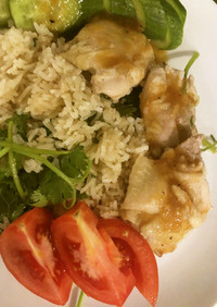 炊飯器でお手軽カオマンガイ タイ料理