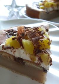 ショコラマロン・チーズケーキ