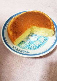 簡単 炊飯器で台湾カステラ風ケーキ