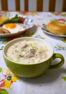 簡単☆白菜と鶏もも肉のクリーム煮