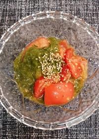 めかぶトマト