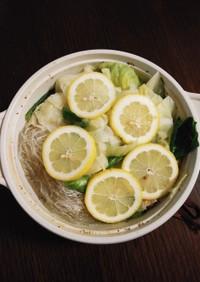 簡単☆鶏塩レモン鍋