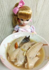 リカちゃん♡鶏の薬膳スープ
