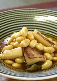 敬老の日★大豆とイカの煮物【動画プラス】