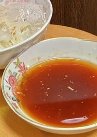 キムチの漬け汁で旨辛麺つゆ