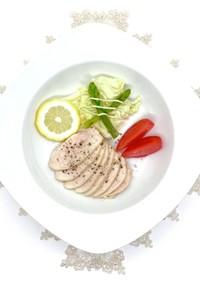 味付き鶏胸肉サラダチキン。しっとり柔らか