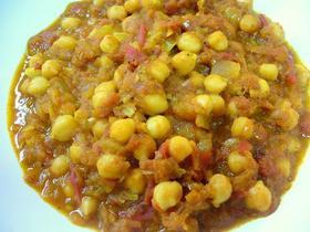 ひよこ豆のカレー チャナ・マサラ