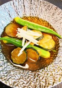 ズッキーニや夏野菜の煮浸し