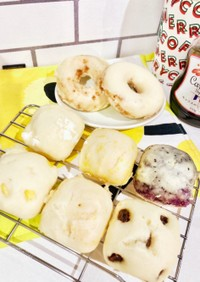ホットケーキミックスで幼児食蒸しパン