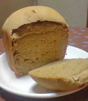 HBで全粒粉100%の食パン