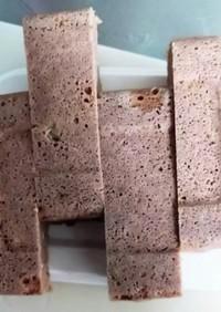大容量!片手で食べるオートミール蒸しパン