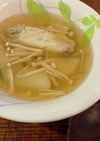 手羽先で作るコラーゲンたっぷり美肌スープ