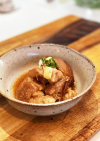 シンプルに☆圧力鍋で簡単柔らか豚の角煮