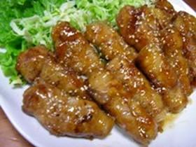 長芋の豚肉巻き✿照り焼き