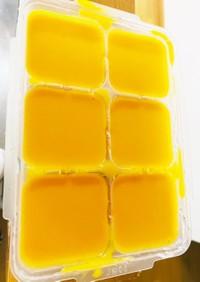 離乳食にバターナッツカボチャのポタージュ