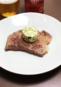 牛肉のステーキ(カフェドパリ)
