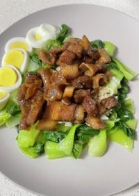 豚肉と青梗菜