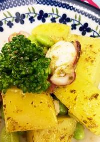 タコとブロッコリーサラダ(塩分0.18)