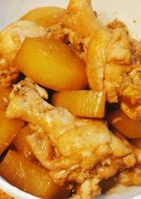 鶏手羽元と大根の味ぽん煮