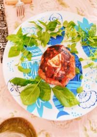 簡単カマンベールベーコン包み焼き