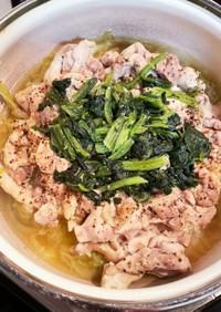 簡単♡蒸し鶏鍋