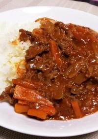 【パパ料理】お肉たっぷりハヤシライス