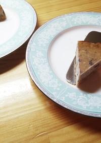 ブルーベリージャムのチーズケーキ