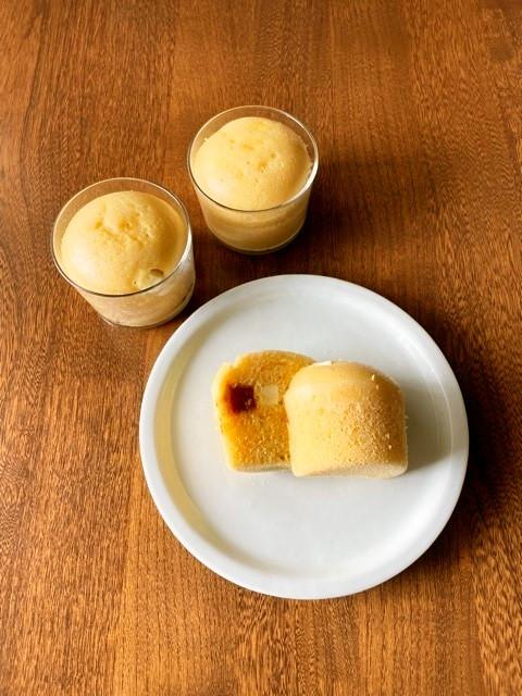 発酵ライスミルク蒸しパン