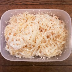 ☆作り置き☆タラコしらたき+バター