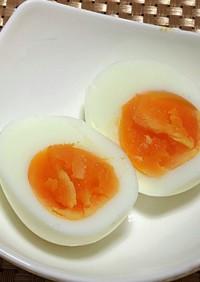 フライパンでゆで卵!時短です!