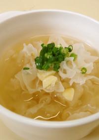 漢方医・薬膳!白きくらげとハスの実スープ
