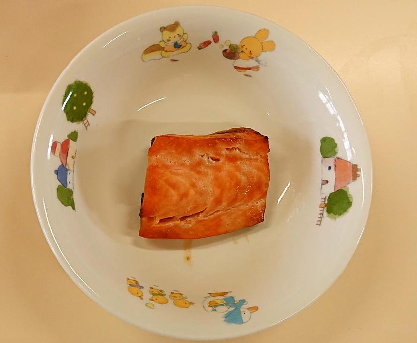 【保育所給食】魚の照り焼き