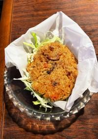 鮭マヨ味★炊き込みライスバーガー