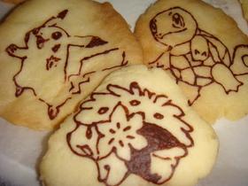 キャラデコ☆ポケモンクッキー