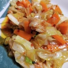 野菜たっぷり!豚バラキムチ炒め