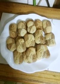 豆腐とコーヒーのソフトダイスクッキー