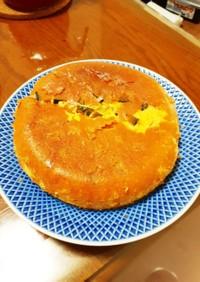 簡単 炊飯器で台湾風カボチャのカステラ