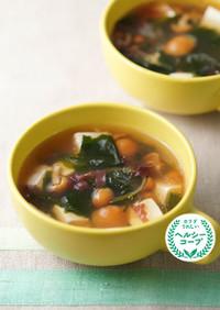 なめこと海藻のとろとろスープ