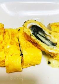 海苔チーズイン卵焼き